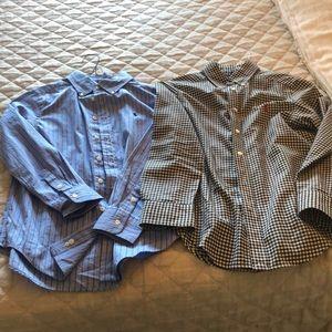 Two beautiful boys size M 10-12 Ralph Lauren shirt
